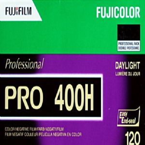 Fuji Pro 400H 400 iso 120 roll Colour Print Camera Film